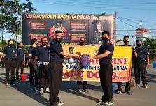 Peringati Hari Sampah Nasional, Polres Pelabuhan Belawan Gotong Royong