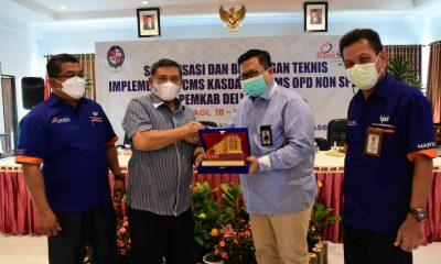 HM Ali Yusuf Siregar Hadiri Penutupan Bimtek Implementasi Layanan CMS Kas Daerah Non-SP2D