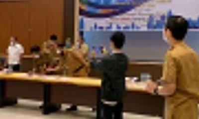 Dinas PUTR Inhil Hadiri Undangan Forum Perangkat Daerah