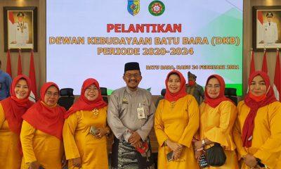 Bupati Pemkab Batu Bara Lantik Dewan Kebudayaan Periode 2021 - 2024