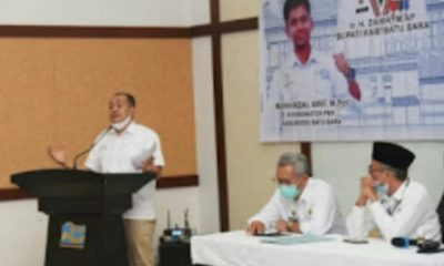 Bupati Zahir Hadiri Pemantapan SDM PKH Kabupaten Batu Bara Tahun 2021