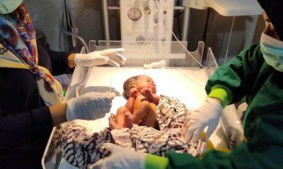 Penemuan Bayi Perempuan Dalam Kantong Plastik