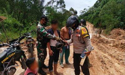 Tim Gabungan Polsek Wonosobo dan Koramil Amankan Tiga Terduga Pungli di Jalan Blok VIII