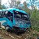 Minibus Masuk Jurang, Dua Orang Penumpang Tewas