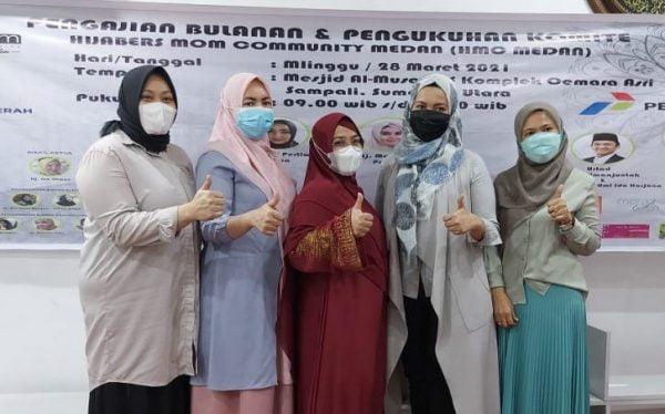 Hijabers Mom Community Gelar Safari Dakwah Di Masjid Al-Musannif