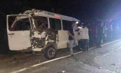 Bus dan L-300 Tabrak Kawanan Kerbau, 7 Penumpang Luka-luka