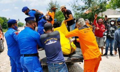 Mayat Remaja di Temukan Mengambang di Pinggir Pulau Nusa Barong