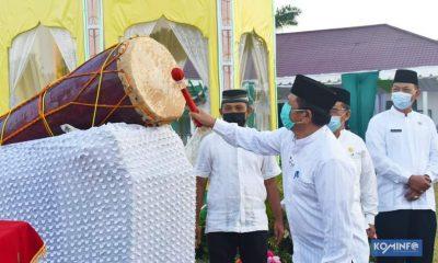 Walikota P. Sidimpuan Buka MTQ Ke XX Tahun 2021