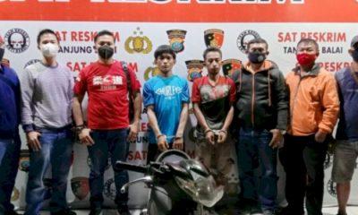 Polres Tanjungbalai Ringkus Komplotan Pencuri Sepeda Motor