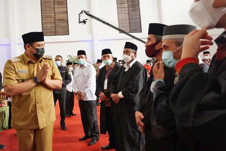 Wali Kota Medan Lantik Dewan Pengawas dan Dewan Hakim MTQ Ke-54 Kota Medan