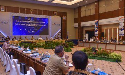 Wawako P.Sidimpuan Ikuti Rapat Tahunan Pemegang Saham PT Bank Sumut