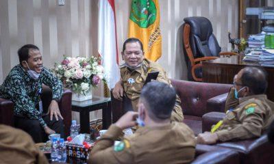 Walikota P.Sidimpuan Terima Audiensi Kaperwil BI Sibolga