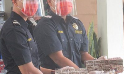 Bea Cukai Sita 31 Ribu Batang Rokok Tanpa Cukai