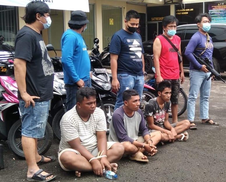Tiga Pelaku Curanmor Miliki Ajimat Asal Lumajang Diringkus Tim Cobra Polres Jember