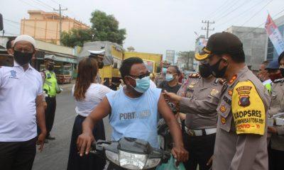 Kapolres Sergai Pimpin Ops Yustisi di Jalinsum Sei Rampah