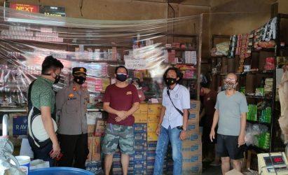 Tim Terpadu Monitoring Pasar Gisting dan Talang Padang Menjelang Bulan Suci Rahmadhan 1442 H