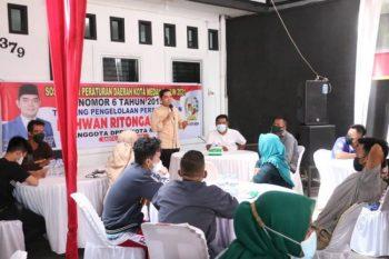 Wakil Ketua DPRD Medan Sosialisasikan Perda No.6 Tahun 2015