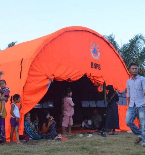 Pengungsi Gas Beracun Keluhkan MCK