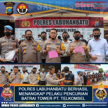 Polres Labuhanbatu Ringkus Enam Pencuri KawakanAntar Propinsi
