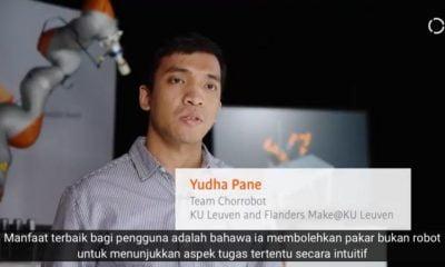 Yudha Prawira Pane Putra Indonesia Terbaik Mengukir Prestasi Di Luar Negri menciptakan Mesin Robot inovatif