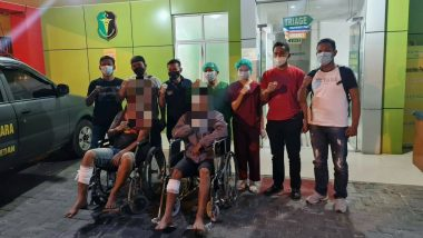 Tekab Polsek Medan Baru Lumpuhkan Dua Pencuri Sepeda Motor