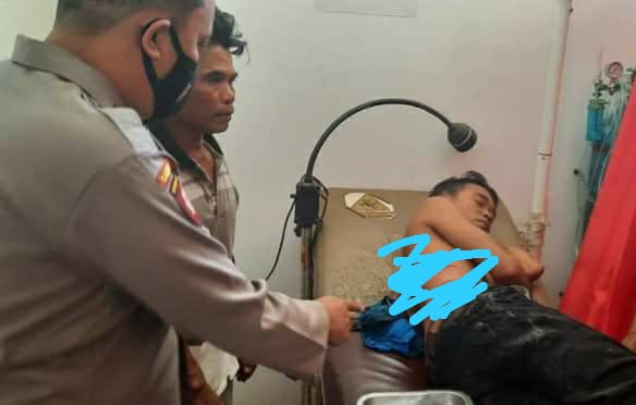 Zaenal Rosifan Korban Begal Kena Sabetan Sajam Sepeda Motor Raib