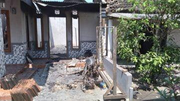 Satu Unit Rumah Warga Desa Tembokrejo Hangus Dilalap Si Jago Merah