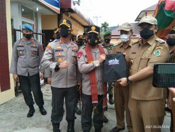 Kapolda Sumatera Utara Lakukan Kunker di Kabupaten Samosir