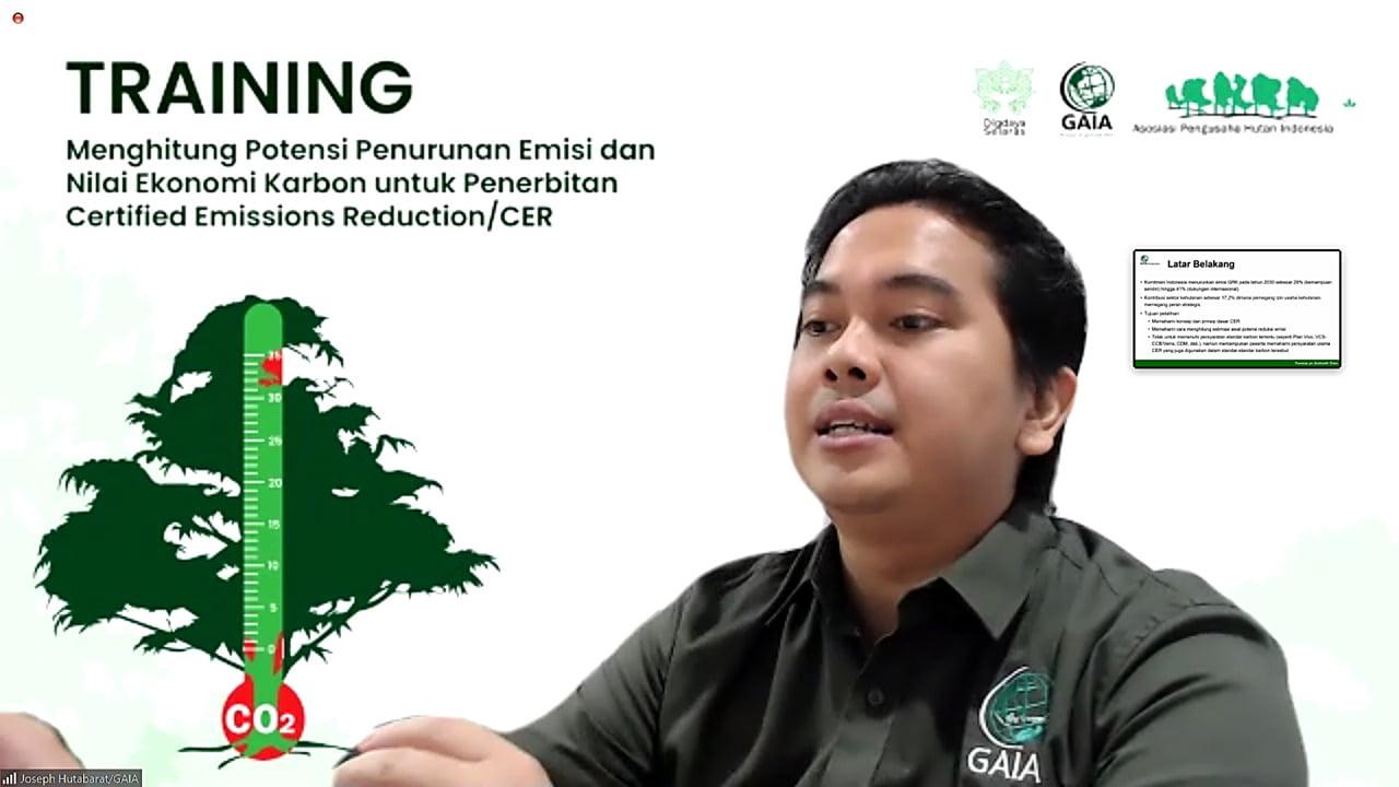 APHI Dorong Unit Manajemen Penghitungan Potensi Penurunan Emisi dan Nilai Ekonomi Karbon