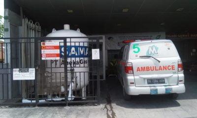 Peletakan Tabung Gas Sembarangan, Manajemen RS Mitra Medika Sulit Dikonfirmasi