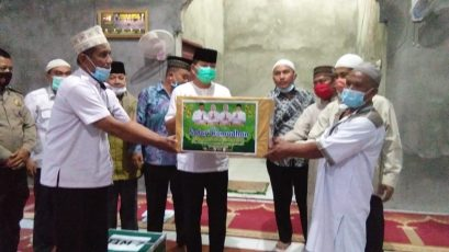 Tim VII Safari Ramadhan Dipimpin Kadis PMP2TSP Sergai Kunjungi Desa Rubun Dunia