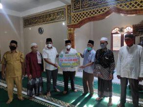 Safari Ramadhan, Pemko Psp Beri Bantuan ke Mesjid Al Huda