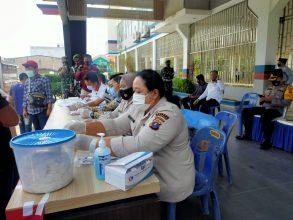 Empat Orang Pemudik Hasil Test Urinya Diduga Mengandung Zat Methafetamine