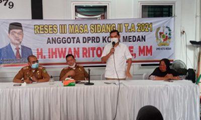 Ihwan Ritonga Dukung Program Pelayanan Kesehatan Gratis Pemko Medan