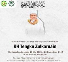 KH Tengku Zulkarnain Meninggal Bukan Karena Covid