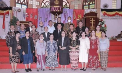 Wawako Gunungsitoli Hadiri Perayaan HUT Gereja Amin