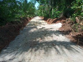 Pembangunan Prasarana Pertanian Desa Kandangan Diduga Tak Sesuai RAB