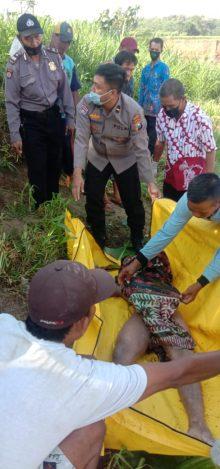 Pencari Pasir Temukan Mayat Terapung Tanpa Busana di Sungai Bedadung