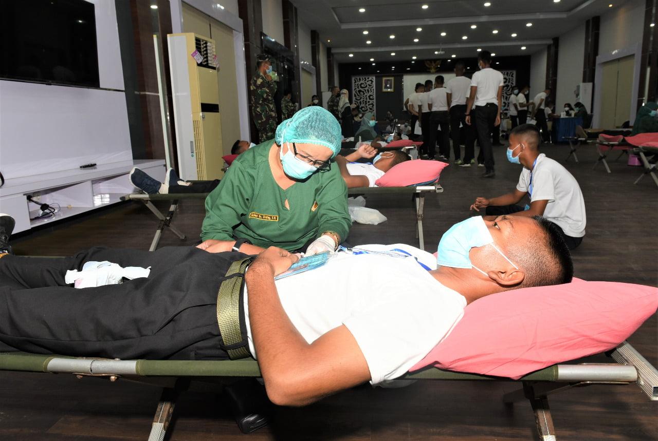 Lantamal I Belawan Senyelenggarakan Donor Darah