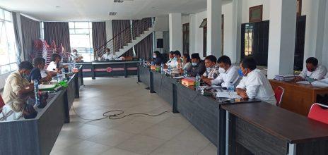 DPRD Kabupaten Samosir Adakan Rapat Dengar Pendapat Bersama Forum Dinamika