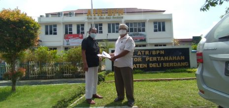 Pensiunan PTPN II Buat Surat Sanggahan dan Pemblokiran Permohonan HGB ke BPN Deli Serdang