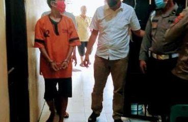 Pencuri Emas Keponakan Dijemput Polsek Medan Timur