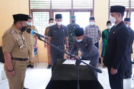 Bupati Kampar Lantik Jabatan Fungsional Pengawas