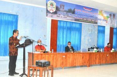 Bupati Buka Forum Konsultasi Publik Ranwal RPJMD Kabupaten Nias Tahun 2021-2026