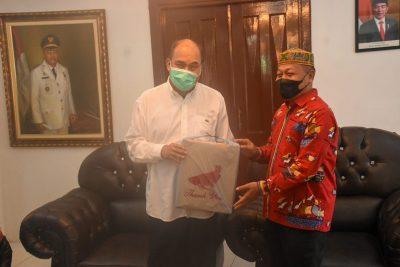 Plt Walikota Tanjungbalai Kunker ke Tebing Tinggi