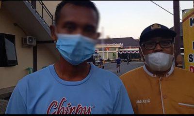 Penyebar Vidio Provokasi di Medsos Ditangkap Polres Jember