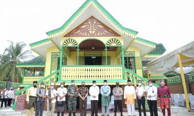 Walikota Tebing Tinggi Resmikan Rumah Adat Melayu di Bandar Utama