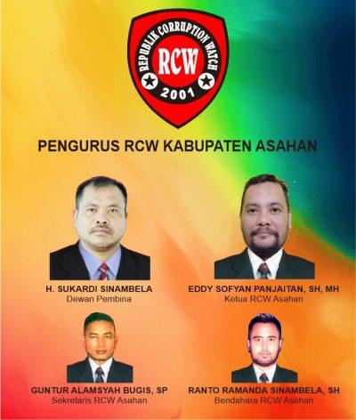 Deddy Panjaitan Ditetapkan Jadi Ketua RCW Asahan