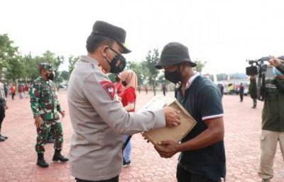 Poldasu Distribusikan 5.000 Paket Bansos Untuk Warga di Masa PPKM Darurat