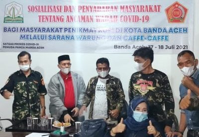 Deklarasi Satgas Corona PPM Aceh Berlangsung Sukses